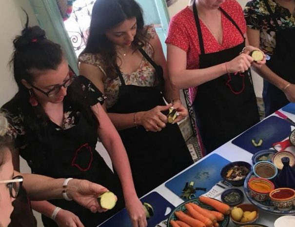 Marrakech Family Cooking Class by Moroccan Food Tour 1