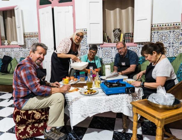 Rabat Family Cooking Class by Moroccan Food Tour 15