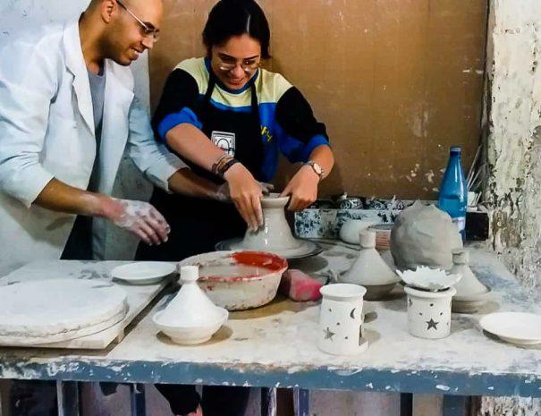Fes – Pottery and Ceramics Workshop 1