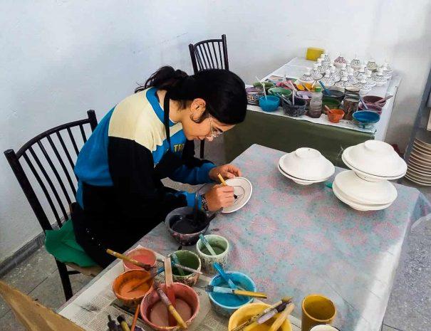 Fes – Pottery and Ceramics Workshop 10