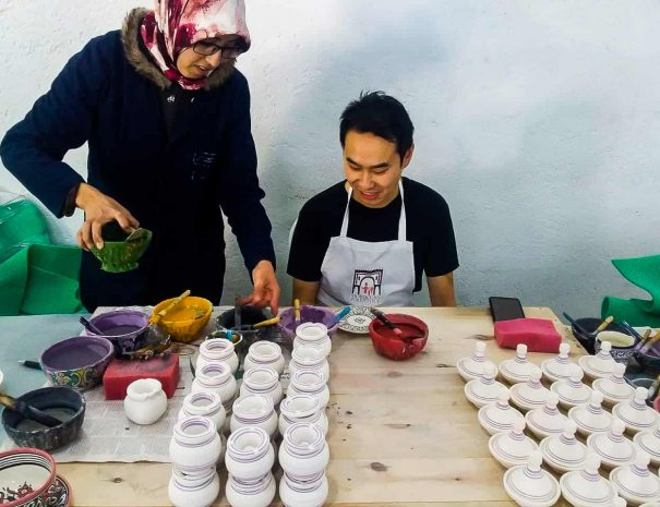 Fes – Pottery and Ceramics Workshop 15