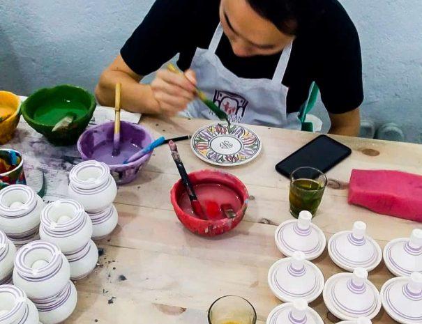 Fes – Pottery and Ceramics Workshop 6
