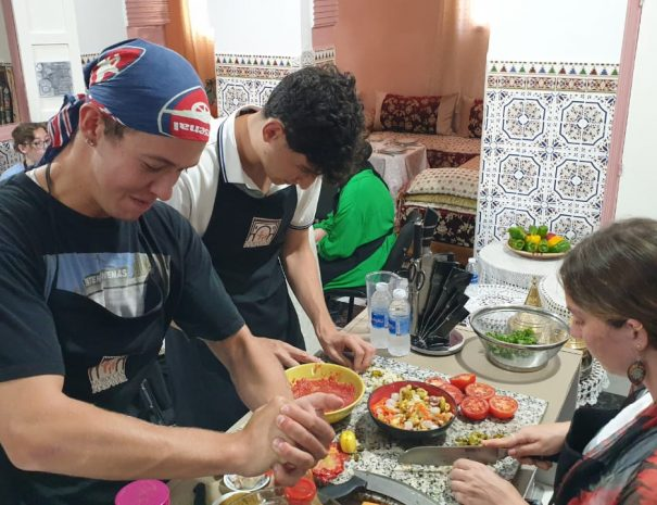 Moroccan Food Tour - Rabat Family Cooking Classes 3